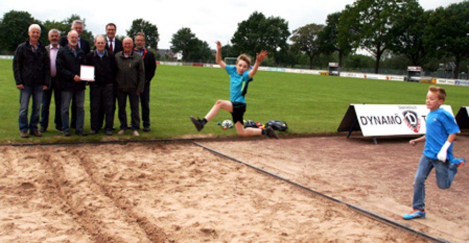 Sportabzeichen-Wettbewerb:  Auf die Plätze, fertig, los!