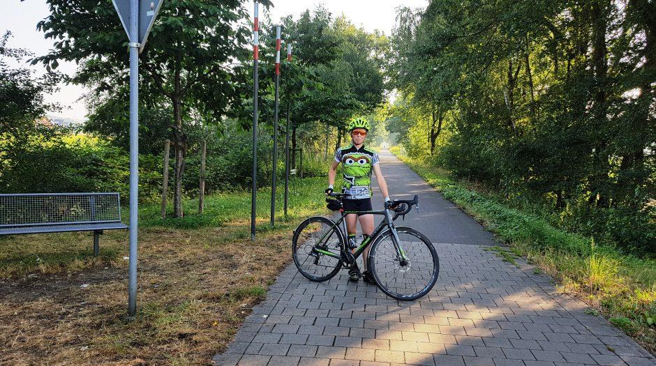 In nur 3 Wochen: Anne fährt 1.521km mit dem Fahrrad