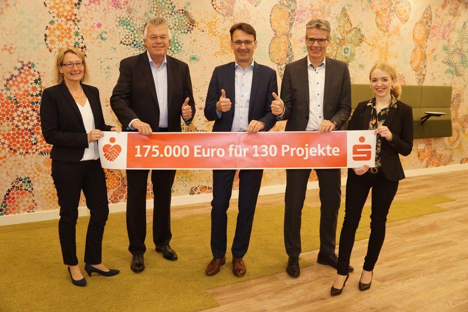 Spendenplattform: 175.000 Euro für 130 Projekte aus der Region