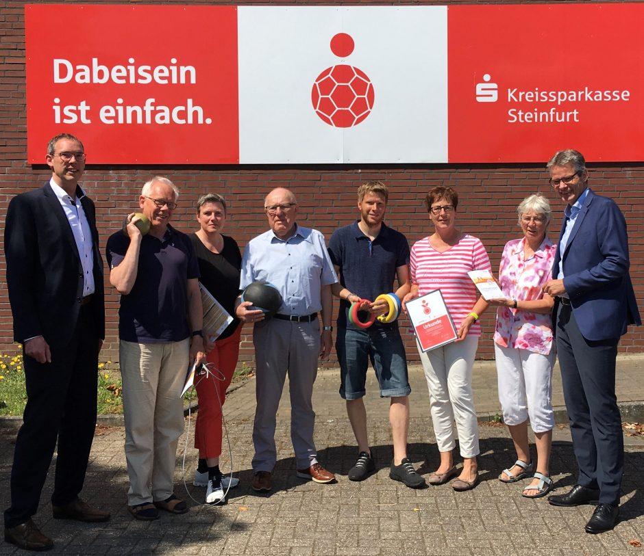 Bundesweiter Sportabzeichen-Sonderpreis  für SC Falke Saerbeck