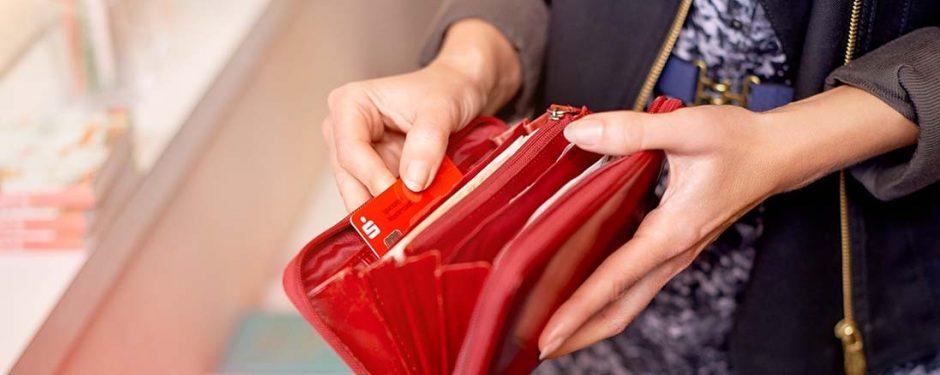 Wichtig: SparkassenCard niemals an der Haustür abgeben