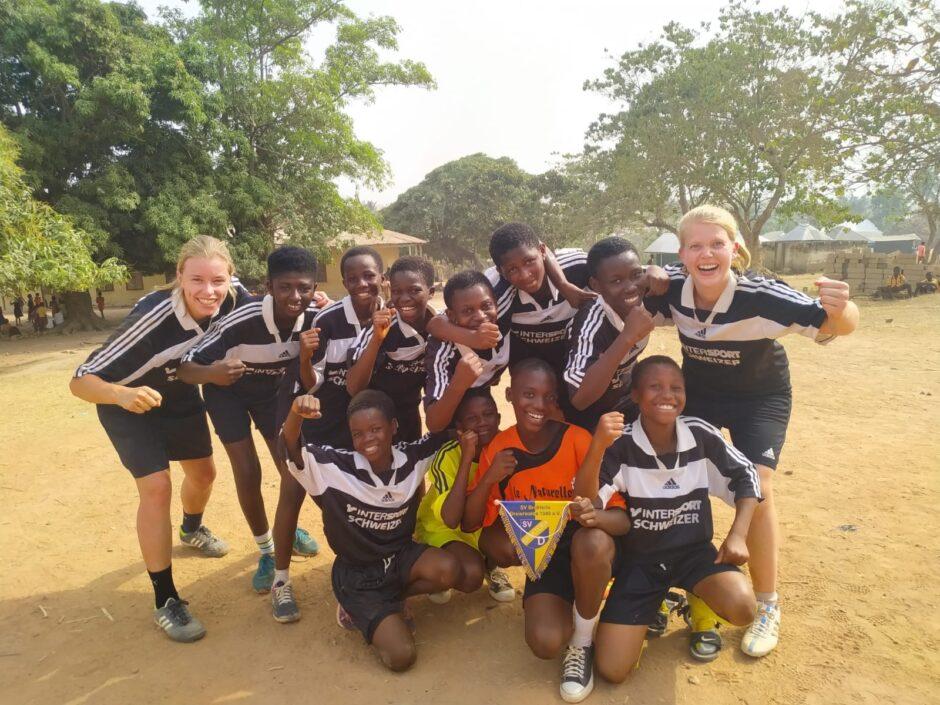Aus dem Sparkassen-Beratungs-Center nach Ghana