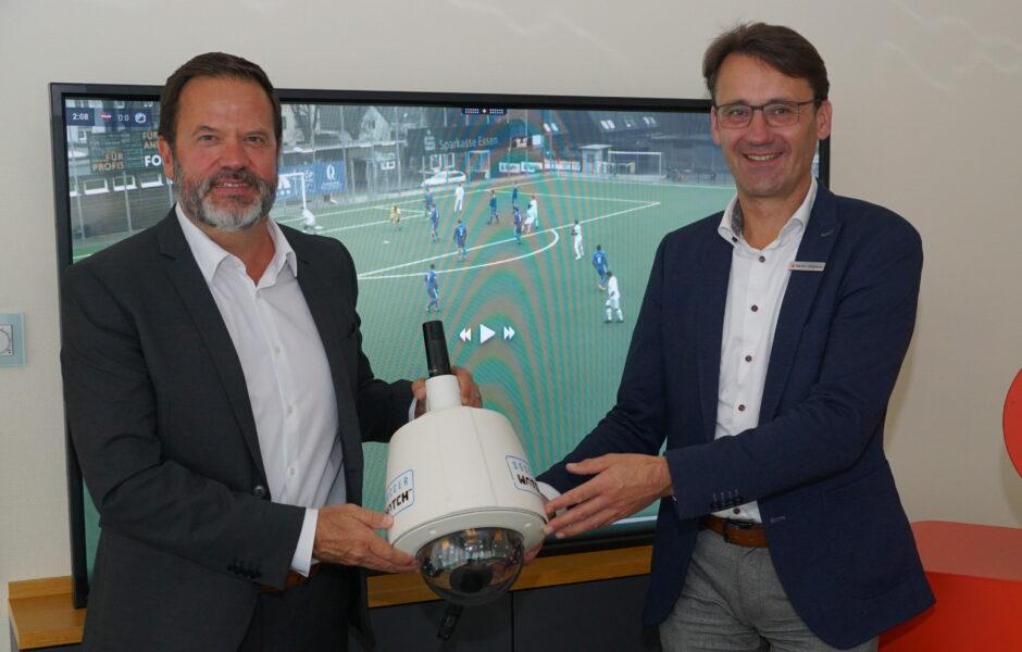 Soccerwatch und Kreissparkasse zeigen Amateur-Fußball aus dem Kreis Steinfurt im Live-Stream