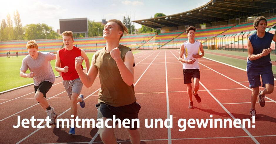 Sportabzeichen-Wettbewerb startet:  Auf die Plätze, fertig, los!