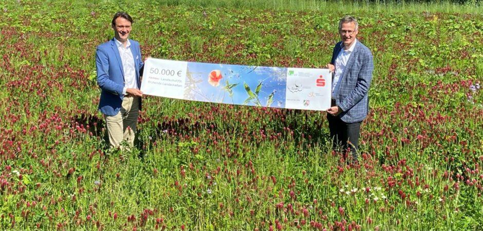 """""""Aktion Landschaf(f)t"""": 50.000 Euro für Umweltprojekte"""